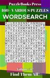PuzzleBooks Press Wordsearch 160+ Various Puzzles Volume 17: Find Them All!