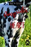 Pawprints On My Heart 6: Glossy Photo Cover Detail of Black and White Spotted Fur, 6 x9 journal with 160 lined pages for Animal Lovers