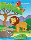 African Animals Coloring Book 5