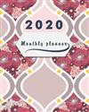 2020 Monthly planner: Bloom Pink Abstract, 12 Month, Weekly & Monthly Appointment Calendar, Agenda Schedule Organizer Journal with Holiday