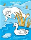 Animals in Winter Coloring Book 1