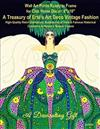 Wall Art Prints Ready to Frame for Chic Home Decor: 8 x10 A Treasury of Erte's Art Deco Vintage Fashion, High-Quality Retro Glamorous Illustrations of Rare & Famous Historical Costumes & Harper's Bazaar Covers, A Decorating Gift