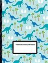 Prehistoric Dinosaur Notebook: Boys' and Girls Fun Handwriting and Printing Practice Notebook for Grades K-2-3