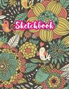 Sketchbook: Cute Drawing Note Pad and Sketch Book for Kids, Girls and Adult - Large 8.5 x 11 Matte Cover with White Interior (Perfect for Sketching, Coloring, Watercolor, Mixed Media, Doodling, Write and Draw Journal and Notebook)
