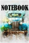 Notebook: Notebook With Retro Car size 6x9