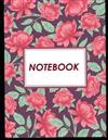 Notebook: Lined book - for school, office or personal use (Large print)