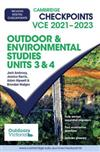 Cambridge Checkpoints VCE Outdoor and Environmental Studies Units 3&4 2021-2023