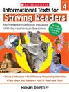 Informational Texts for Striving Readers: Grade 4: 30 High-Interest, Low-Readability Passages with Comprehension Questions