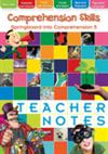 Springboard into Comprehension Level 5 Teacher's Notes
