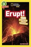 National Geographic Kids Readers: Erupt!