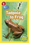 National Geographic Kids Readers: Tadpole to Frog (L1/Co-reader)
