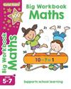 Gold Stars Big Workbook Maths Ages 5-7: Supports School Learning