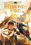 The Kane Chronicles, Book Two the Throne of Fire: The Graphic Novel