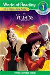 World of Reading Villains 3-in-1 Listen-Along Reader (World of Reading Level 1): 3 Tales of Evil with CD!