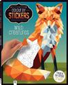 Kaleidoscope Colour by Stickers: Wild Creatures