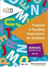 PIRA for Scotland Second Level (P5-P7) manual (Progress in Reading Assessment)