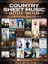Country Sheet Music 2010-2019