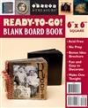 Ready-To-Go Blank Board Books Black 6 X 6 Square