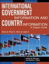International Government Information and Country Information: A Subject Guide
