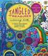 Tangled Treasures Coloring Book: 52 Intricate Tangle Drawings to Colour with Pens, Markers, or Pencils