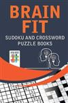 Brain Fit Sudoku and Crossword Puzzle Books