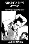 Jonathan Rhys Meyers Relaxation Coloring Book