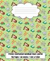 Primary Composition Notebook Story Journal: Half Page Lined Paper With Dotted Midline And Picture Space, Cute Animals Design Cover, Grade Level K-2, 120 Pages (60 Sheets), 7.5 in x 9.25 in, 19.05 x 23.495 cm