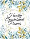 Hourly Appointment Planner: Makeup Artist Daily Appointment Book with Face Chart Pages