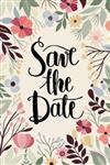 Save The Date: 2020-2021 2 Year Pocket Calendar Schedule 24 Months and Weekly Planner Organizer with Holidays (Floral)
