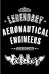 Legendary Aeronautical Engineers are born in October: Blank Line Journal, Notebook or Diary is Perfect for the October Borns. Makes an Awesome Birthday Gift and an Alternative to B-day Present or a Card.