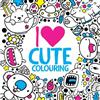 I Heart Cute Colouring