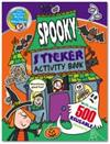 The Wonderful World of Simon Abbott: Spooky Sticker Activity Book