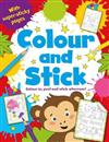 My Sticky Pictures Colouring Book