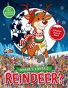 Where's Santa's Reindeer?: A Festive Search-and-Find Book