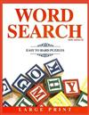 Word Search for Adults: Easy to Hard Puzzles - Large Print