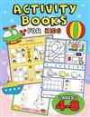 Activity Books for Kids Ages 4-8: Easy and Fun Workbook for Boys and Girls