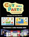 Printable Cutting Practice (Cut and Paste Planes, Trains, Cars, Boats, and Trucks): 20 full-color kindergarten cut and paste activity sheets designed to develop visuo-perceptive skills in preschool children. The price of this book includes 12 printable PDF kindergarten workbooks