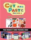 Printable Cutting Practice (Cut and Paste Animals): 20 full-color kindergarten cut and paste activity sheets designed to develop scissor skills in preschool children. The price of this book includes 12 printable PDF kindergarten workbooks