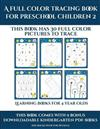 Learning Books for 4 Year Olds (A full color tracing book for preschool children 2): This book has 30 full color pictures for kindergarten children to trace