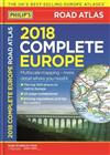 Philip's 2018 Complete Road Atlas Europe: (A4 with practical 'flexi' cover)
