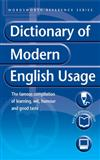 The Dictionary of Modern English Usage