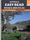 Australia Easy Read Road and 4WD atlas A3: 2015