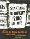 State in New Zealand, 1840-1984: Socialism without Doctrines