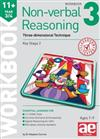 11+ Non-verbal Reasoning Year 3/4 Workbook 3: Three-dimensional Technique