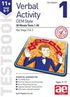 11+ Verbal Activity Year 5-7 CEM Style Testbook 1: 20 Minute Tests 1-20