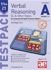 11+ Verbal Reasoning Year 5-7 GL & Other Styles Testpack A Papers 1-4: GL Assessment Style Practice Papers