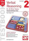 11+ Verbal Reasoning Year 5-7 GL & Other Styles Testbook 2: Standard 20 Minute Tests