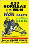 637 Gorillas on the Run and other Feats, Facts and Astonishing Stats: Best of Number Crunch Volume 2