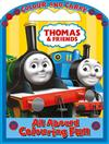 Thomas and Friends - All Aboard Colouring Fun