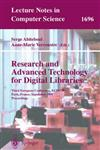 Research and Advanced Technology for Digital Libraries: Third European Conference, ECDL'99, Paris, France, September 22-24, 1999, Proceedings